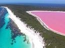 Różowe jezioro